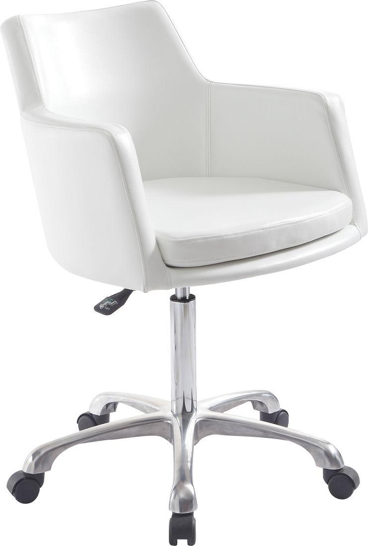 Regina Reception Chair in White  Reception chair, Salon reception