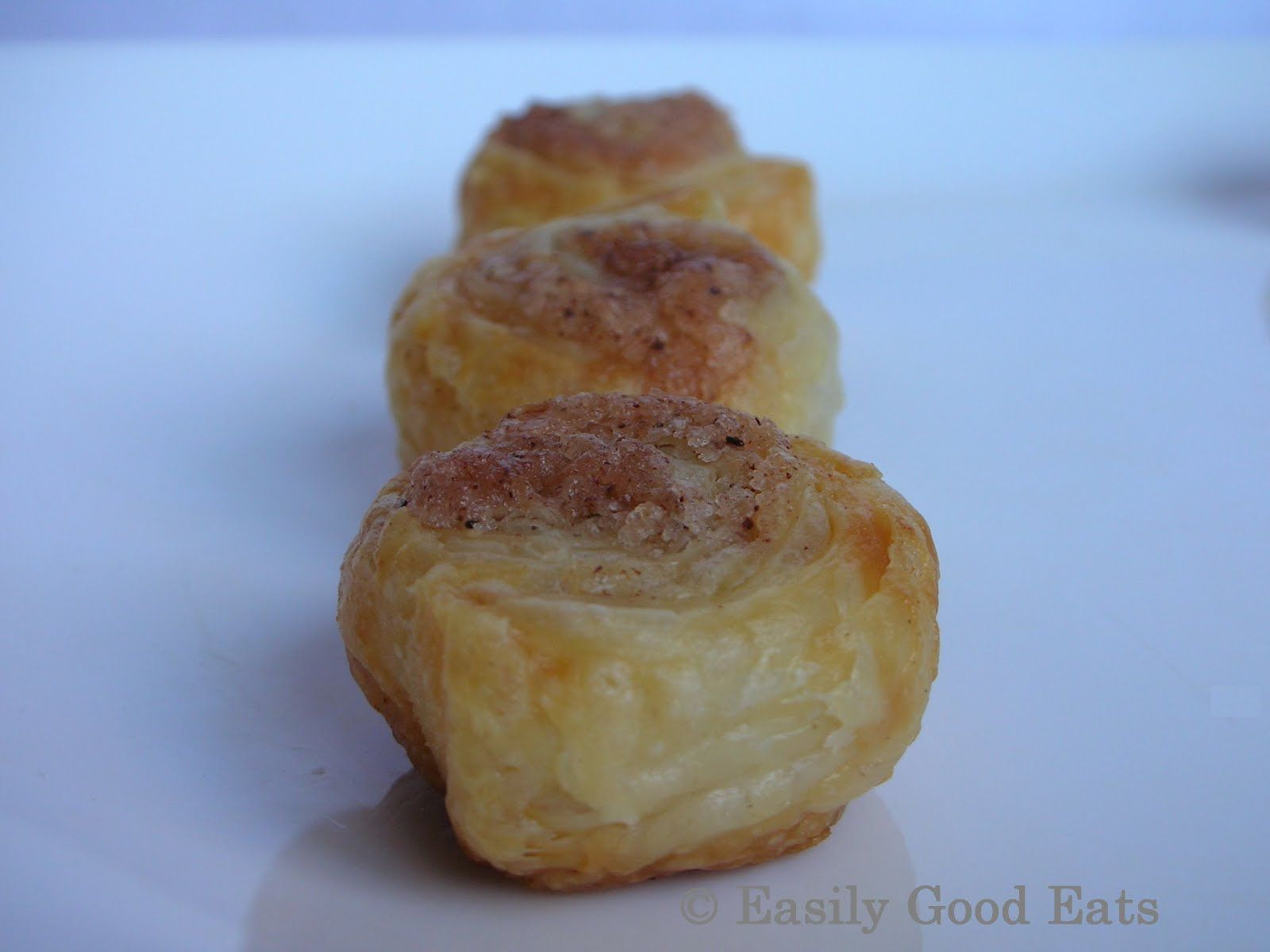 Puff Pastry Cinnamon Rolls Recipe Easy
