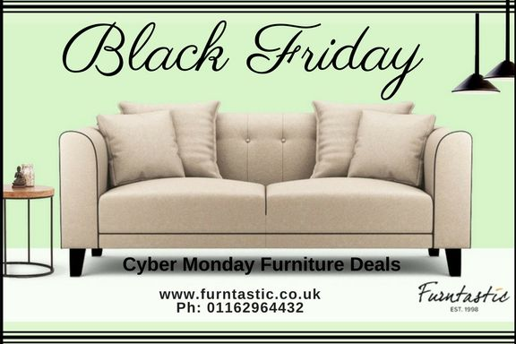 This Black Friday Furntastic Offers You Quality Designer Sofas And