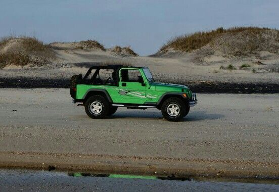 2005 Jeep Wrangler Electric Lime Green Obx Nc 2005 Jeep