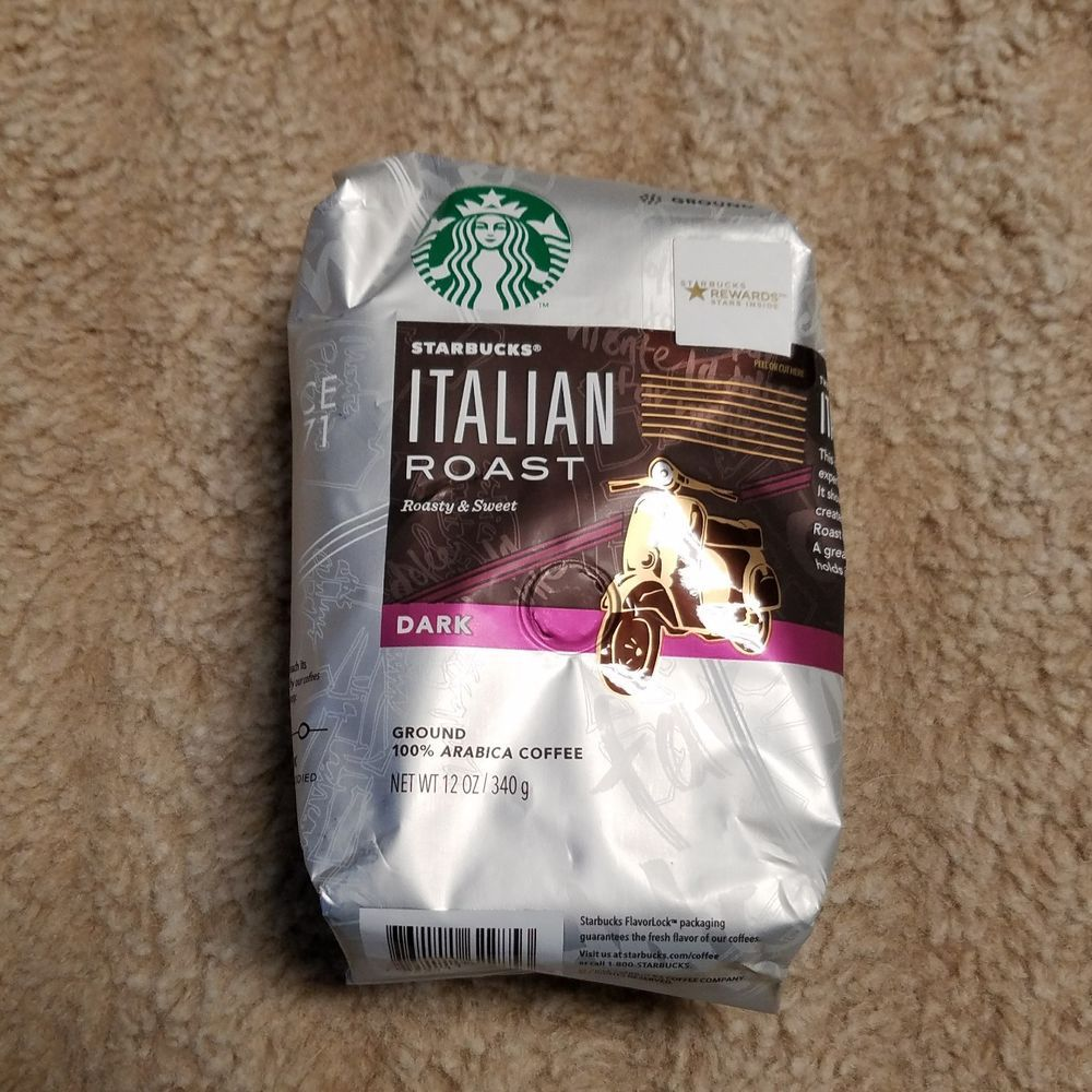 Details about Starbucks Italian Roast Ground Dark Coffee