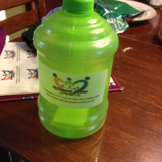 Family Reunion Favor From The Dollar Store!!!!! Love It