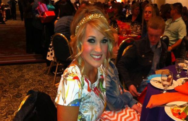 Carrie Underwood Speaks At Fur Ball Fundraiser