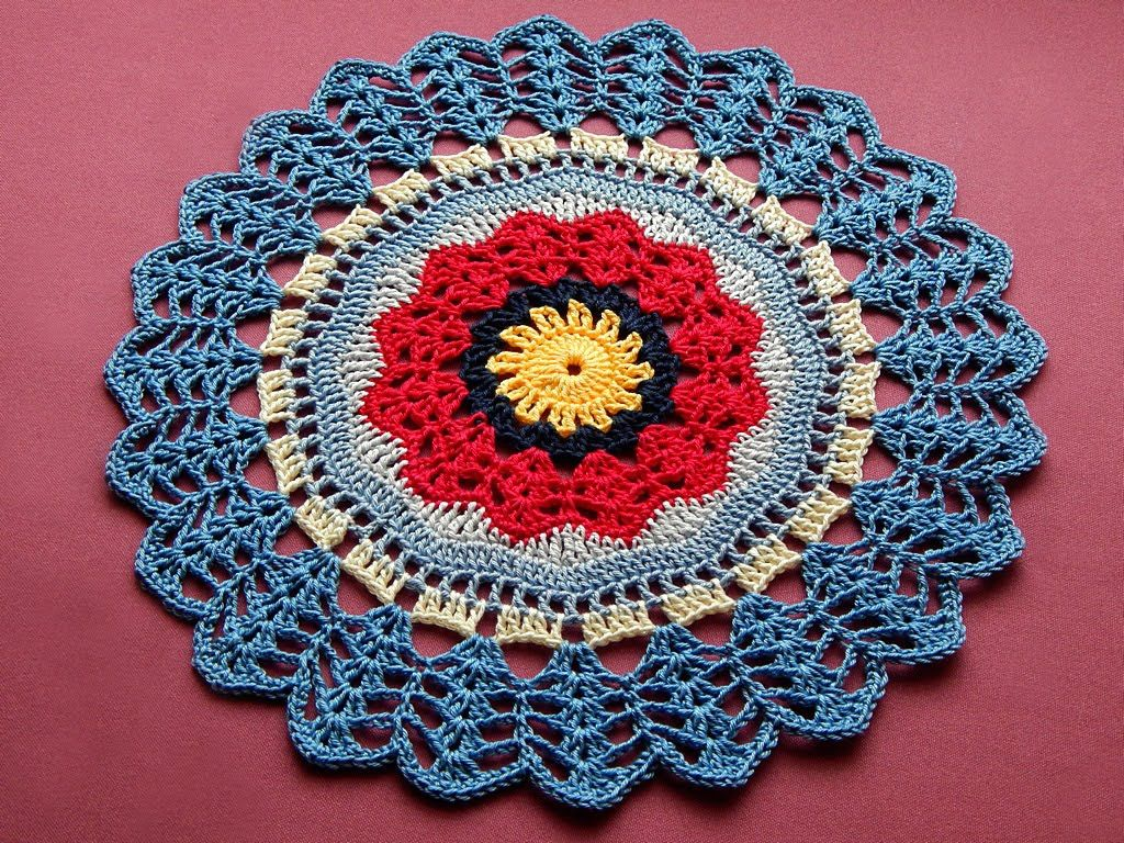Easy rochet mandala doily tutorial part 2 mandala crochethaken easy rochet mandala doily tutorial part 2 bankloansurffo Gallery