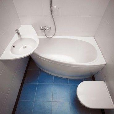 AVOCADO, la bañera Asimétrica más pequeña y cómoda del ...