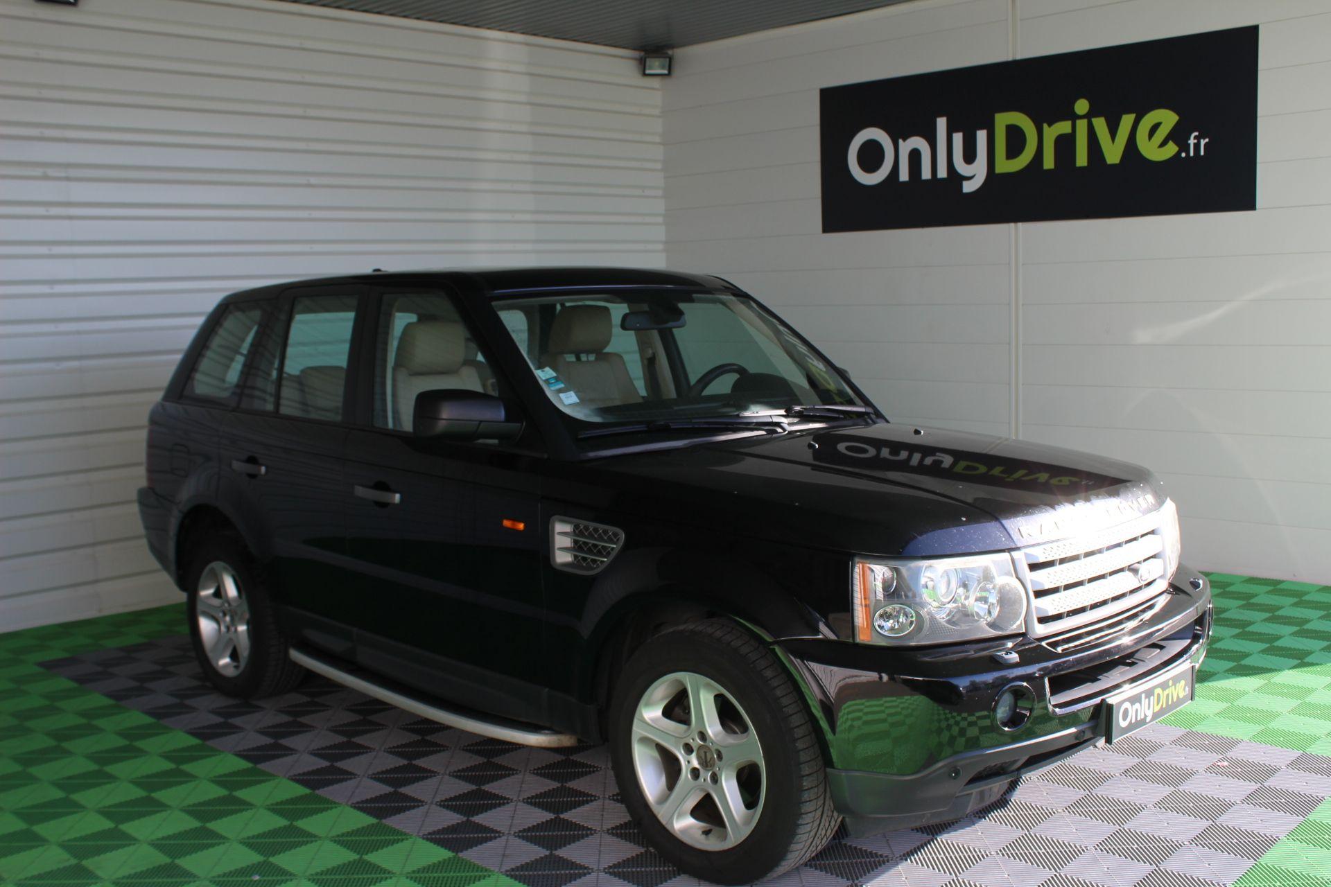 Landrover Range Rover SPORT, Noir, 2006 Location de