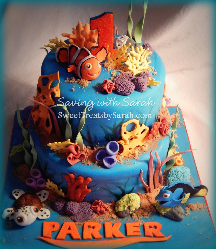 Finding Nemo Birthday Party Ideas Amazing cakes Birthdays and Cake
