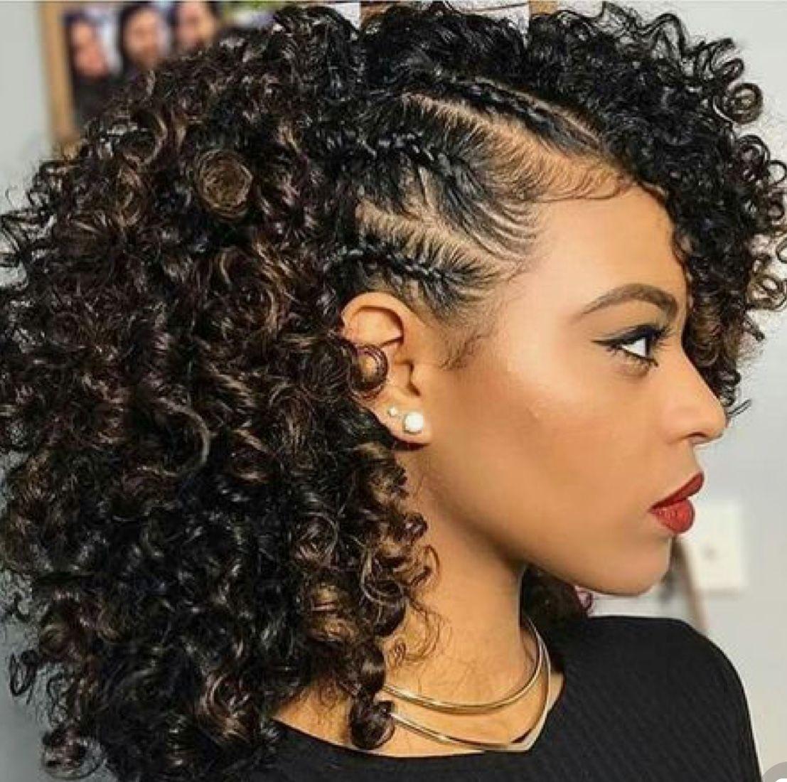 Really cute   Medium length hair styles, Natural hair ...