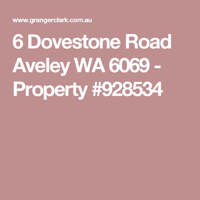6 Dovestone Road Aveley WA 6069 - Property #928534