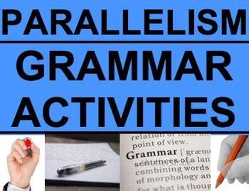 Parallel Sentence Structure - Grammar Worksheets, Powerpoint ...