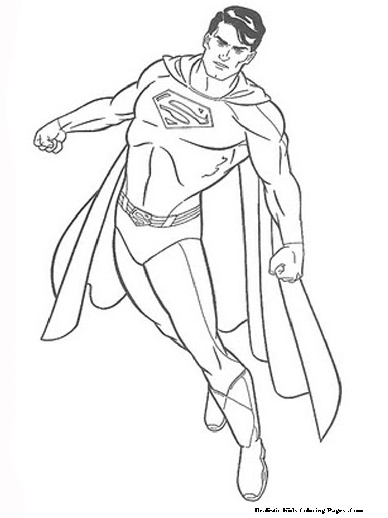 coloring+pages | Man Of Steel Coloring Pages | Realistic Coloring ...