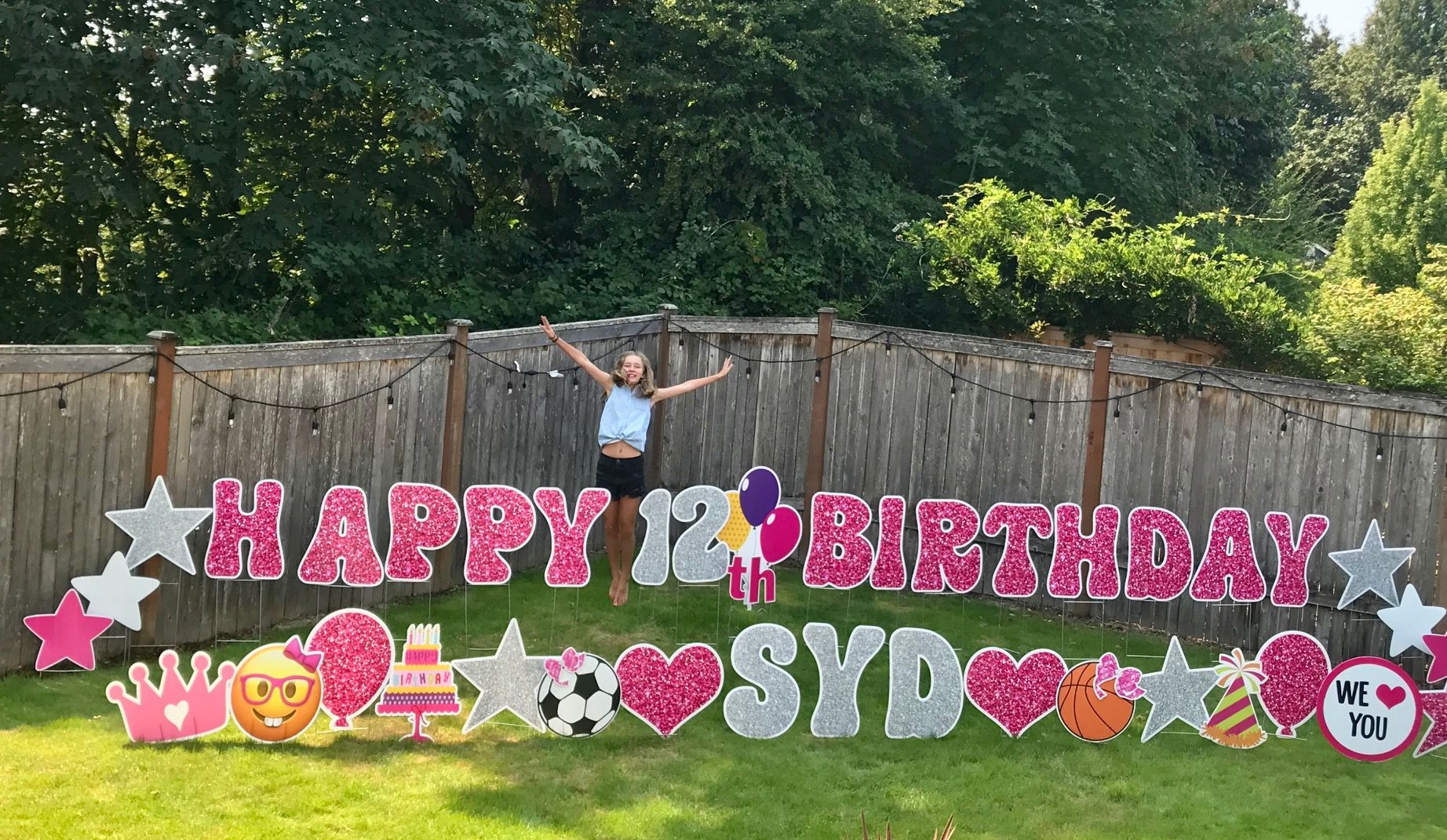 Yard Announcements loves to help you celebrate with