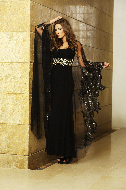 ac870a8292a dress caftan  caftan  lace  black  gold  fashion  my  designs  for   woodstock