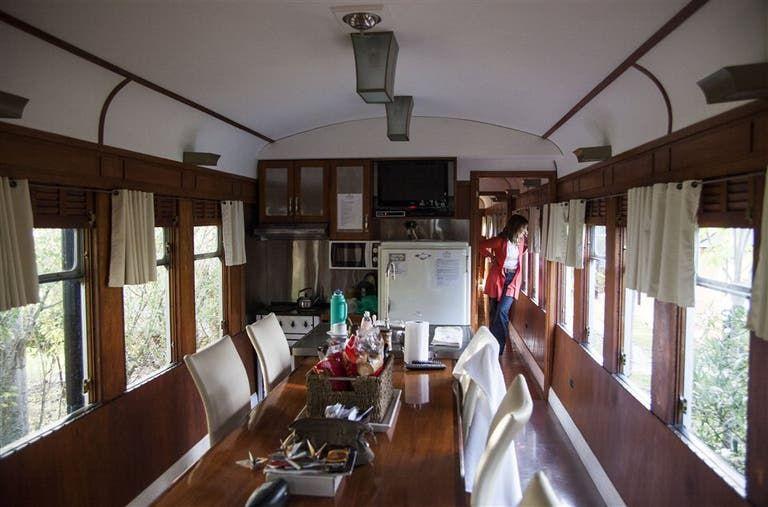 Originales Coche Hoteles Para Dormir Plácidamente En El Tren Hoteles Alojamiento Complejo De Cabañas