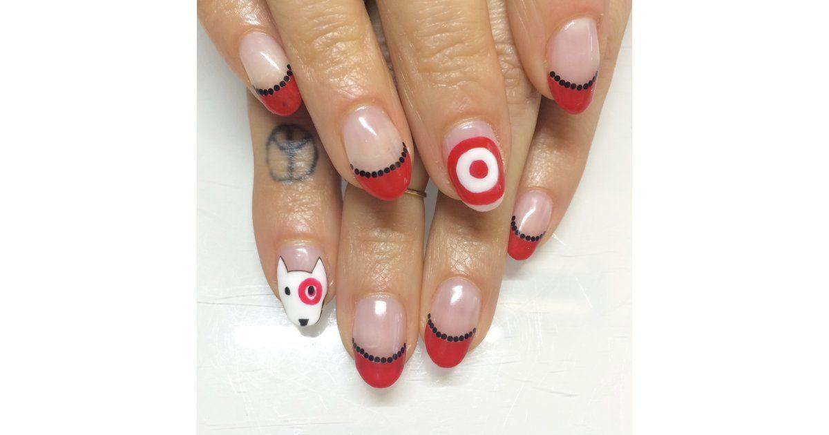 Bull S Eye Stylish Nails Art Makeup Nails Designs Nail Art Designs