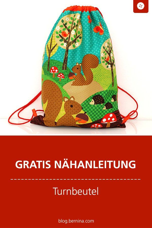 Photo of Kostenlose Nähanleitung : Turnbeutel mit Kordel
