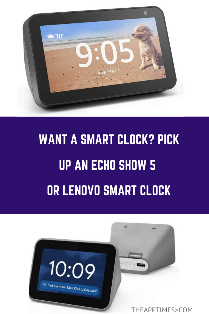 Can You Watch Netflix On Echo Show If You Re Thinking About Picking Up A Smart Clock Here Are Two Great Options To Choose From The Echo Show 5 And The Lenovo Smart Best Smart Home Lenovo Echo