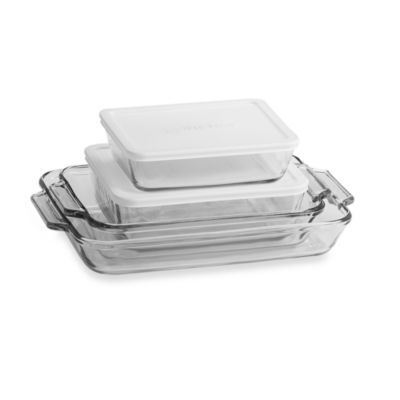 Anchor Hocking 6 Piece Baking Dish Set Baking Dish Set Bakeware Set Baked Dishes