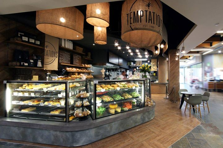 temptations bakery & patisseriemasterplanners interiors, perth