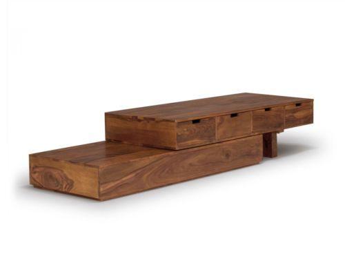lowboard tv flaechenstrecke tv bank massiv holz palisander moebel neu 0793 wohnzimmer. Black Bedroom Furniture Sets. Home Design Ideas