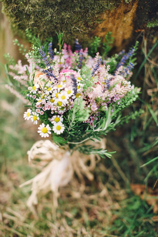 30 Wildflower Wedding Bouquets Not Just For The Country