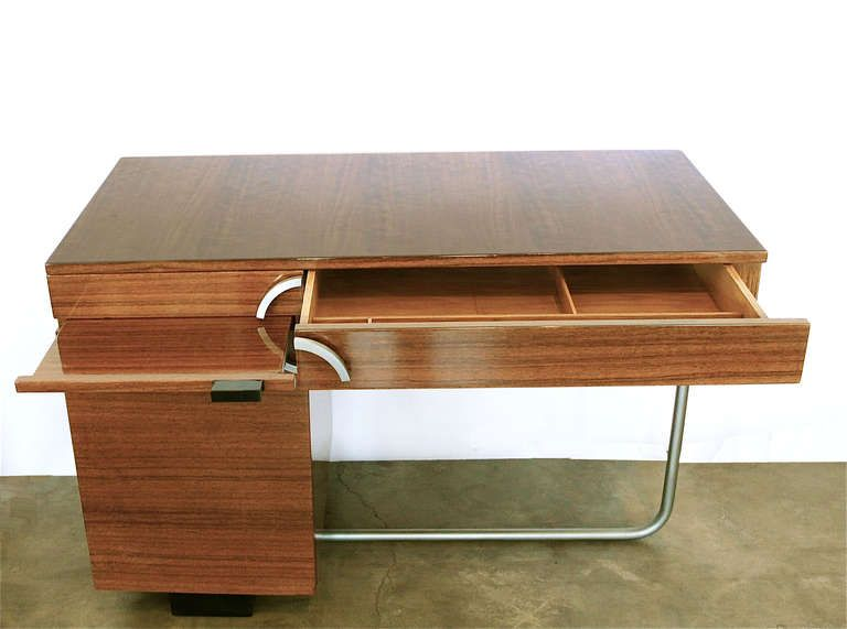 Good Rare Modernist Art Deco Desk By Gilbert Rohde For Herman Miller | From A  Unique Collection