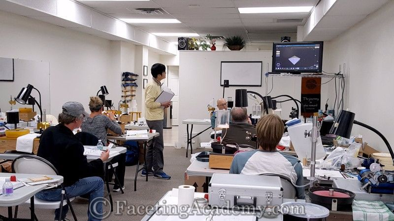 Symmetry studies at the Faceting Academy  | International