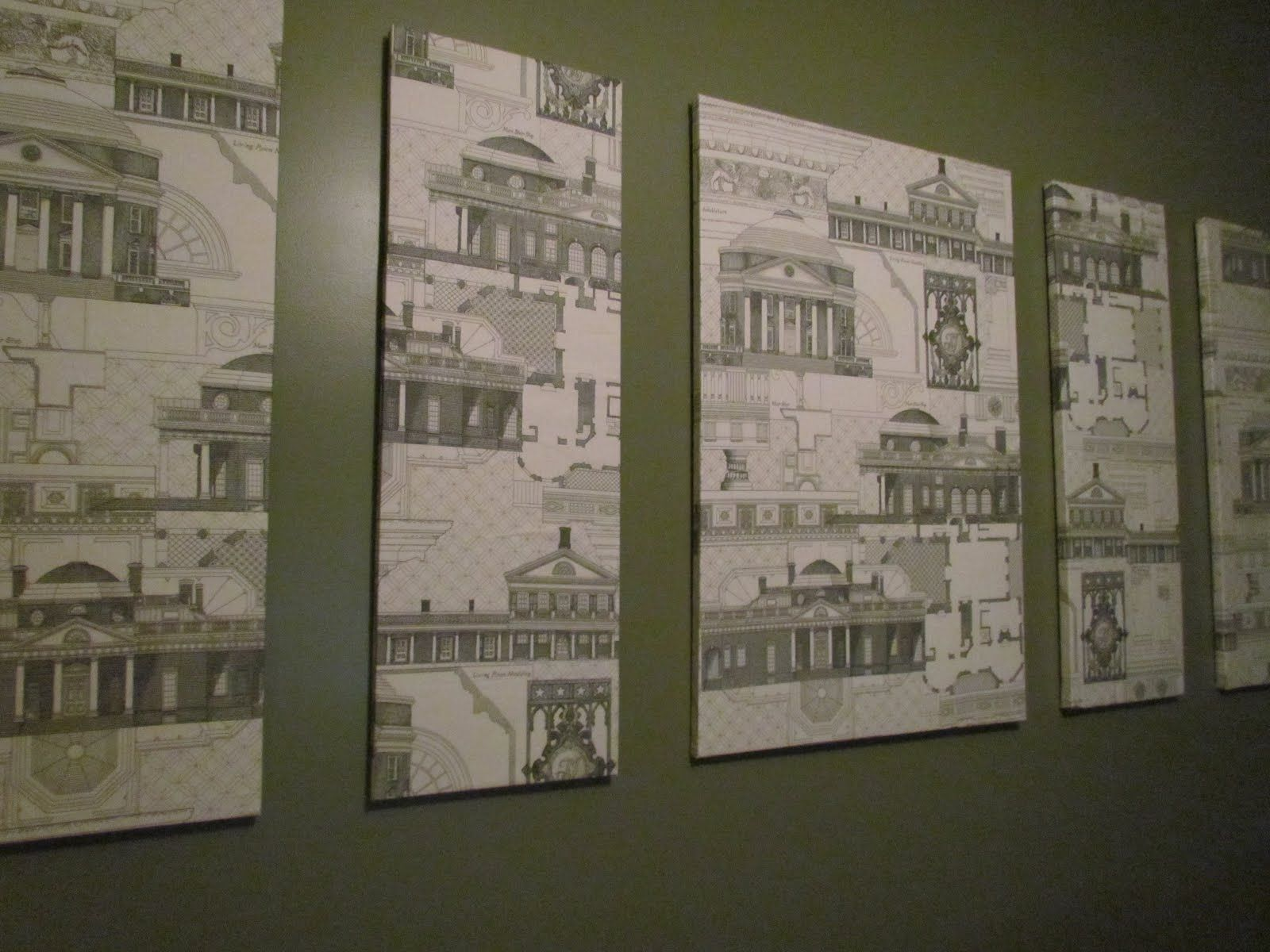 like this idea of covering canvas in art(chitecture).