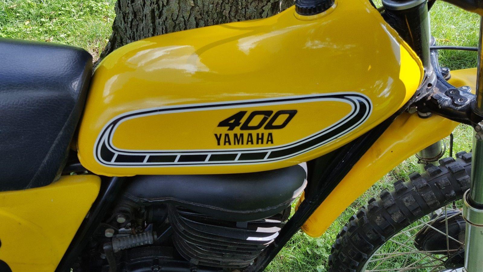 eBay: 1976 Yamaha YZ VINTAGE 1976 YAMAHA YZ 400 MOTORCYCLE MOTOCROSS