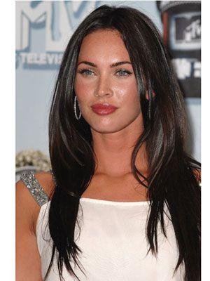 8 Hairstyles He Ll Love Megan Fox Hair Long Hair Styles Straight Hairstyles