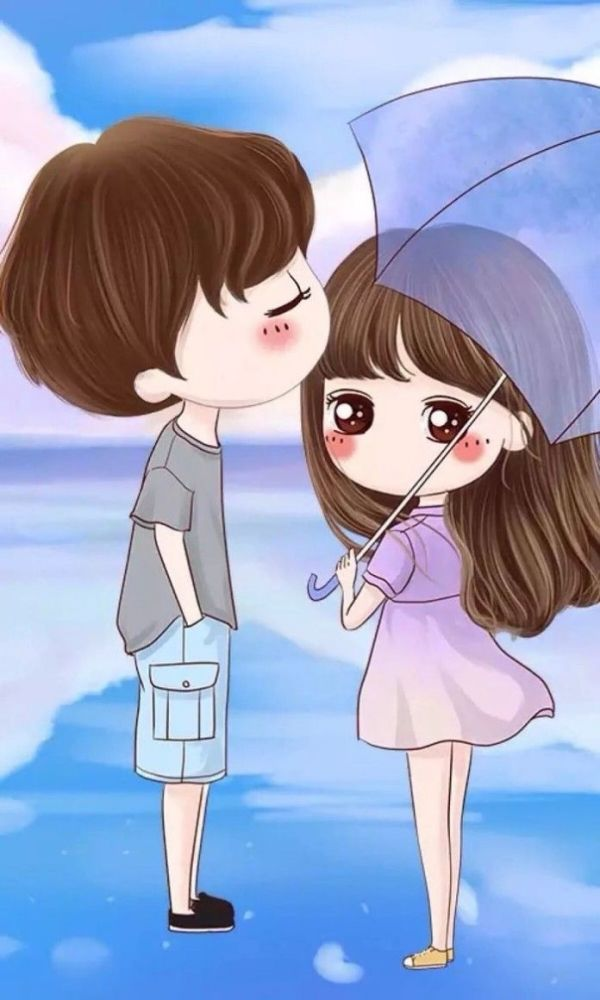 40 Romantic Couple Cartoon Love Photos Hd In 2020 Cute Couple Wallpaper Cute Couple Cartoon Cartoons Love