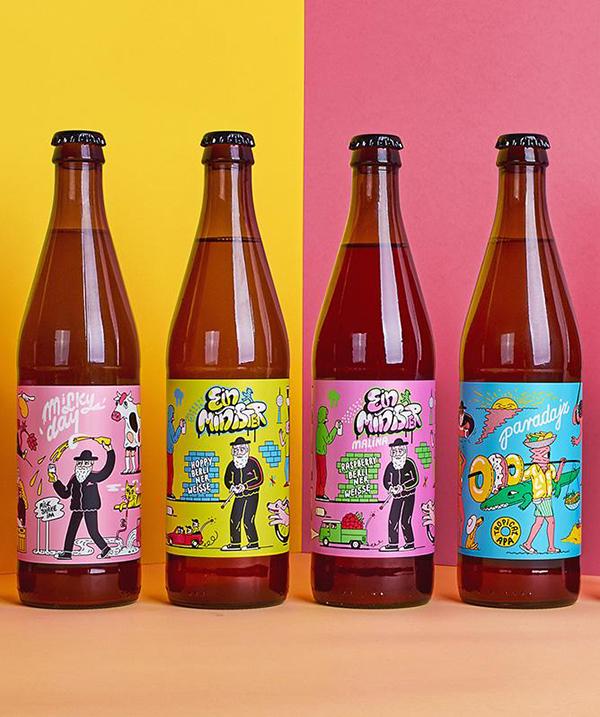 25 Best Beer Packaging Designs Of The Year Craft Beer Label Design Beer Label Design Beer Packaging Design