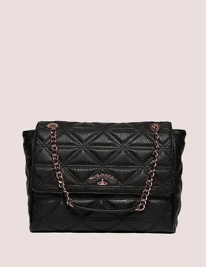 97afd33111b black Vivienne Westwood Sharlenemania Quilted Shoulder Bag ...