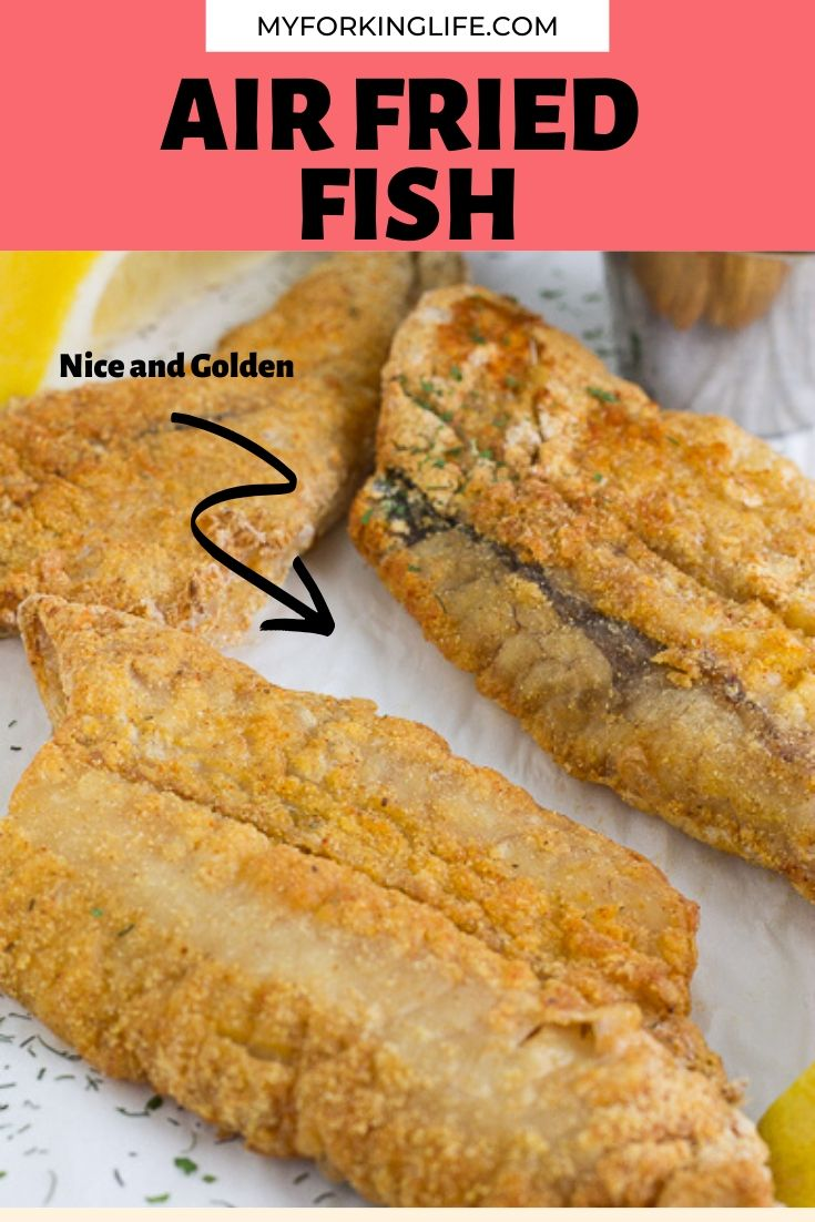 Air Fryer Fish Recipe Air fried fish, Air fryer fish
