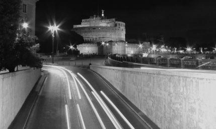 Castel Sant'Angelo lights
