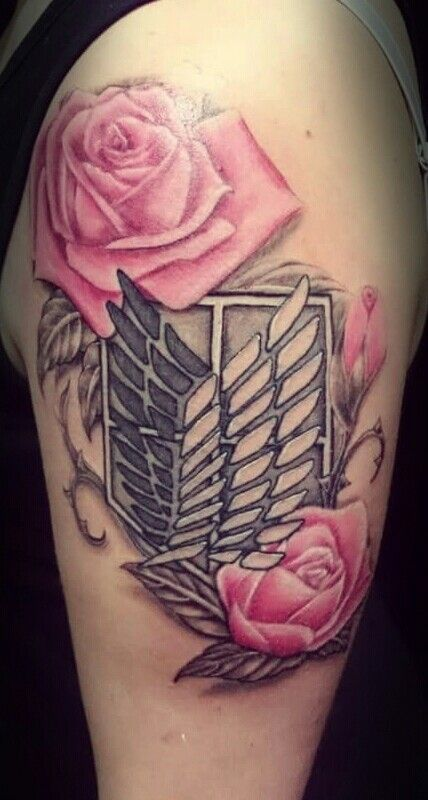 Image result for attack on titan tattoo cute tattoos for Attack on titan tattoo