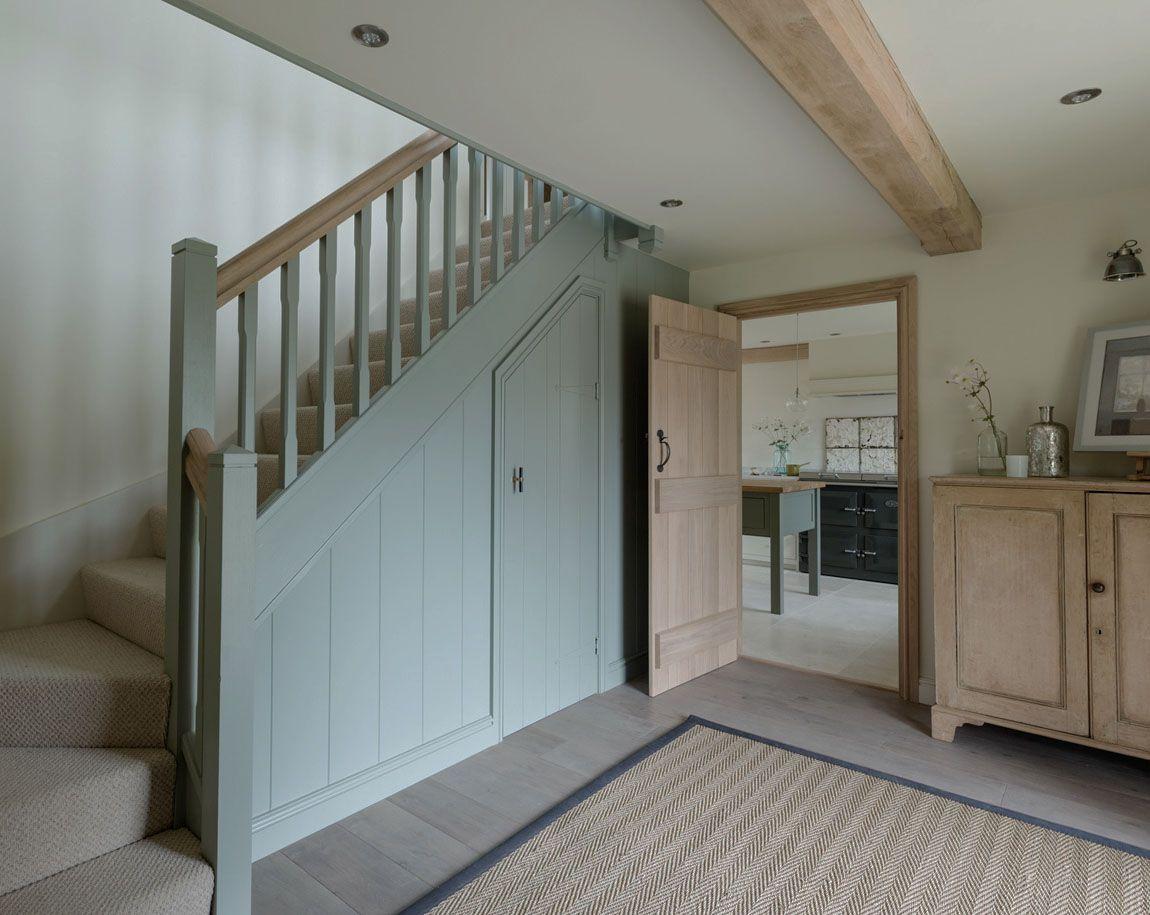 Best Entrance Hallway Oak Frame Grey Oak Floorboards Border 400 x 300
