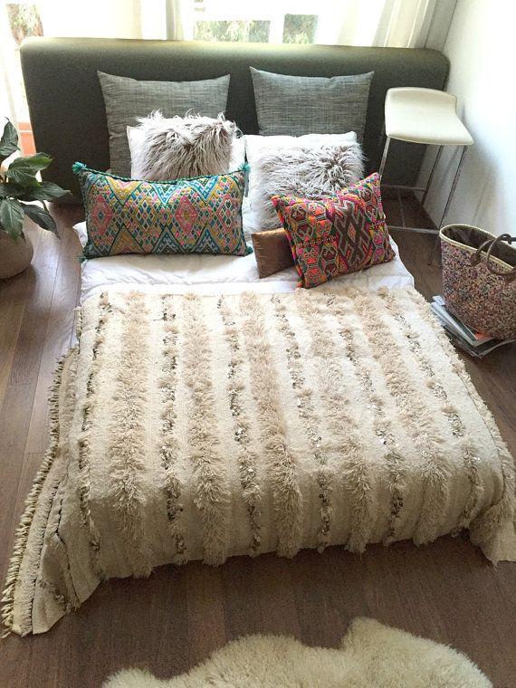 Moroccan Wedding Blanket Handira Diana Berber Bedding