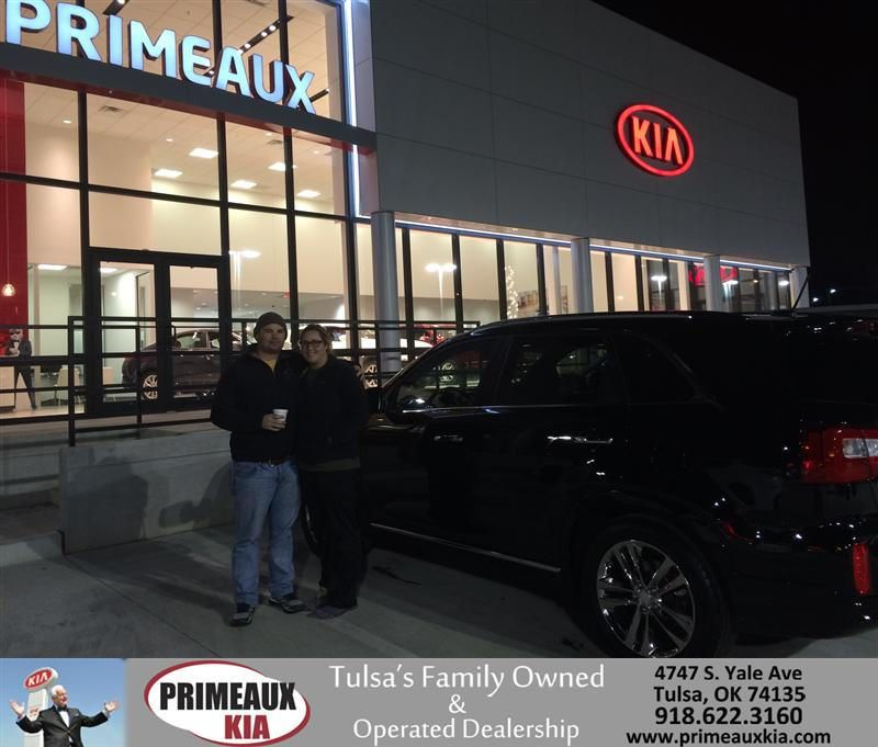Congratulations to Joseph Gorczynski on your Kia Sorento