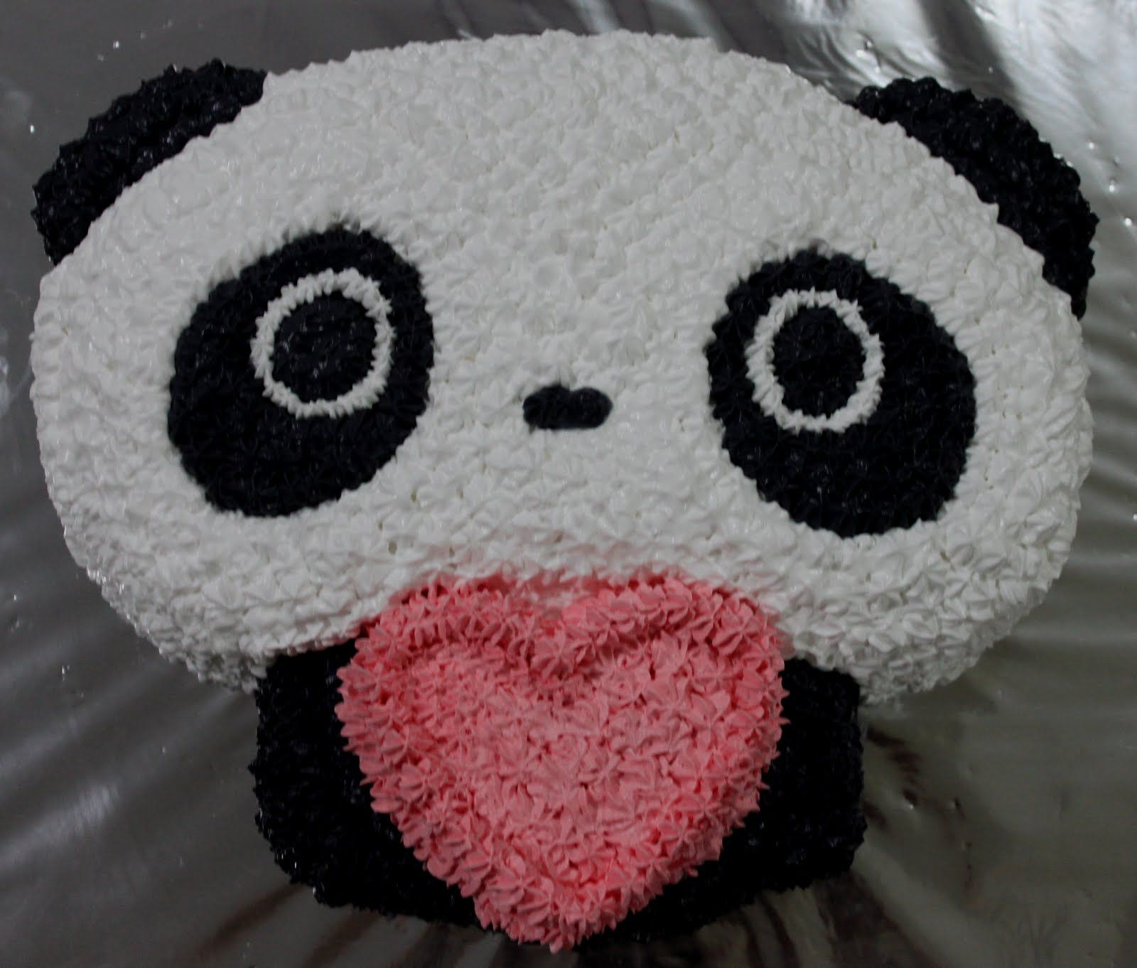 Pin Inspired Bakes Tare Panda Cake Picture To Pinterest