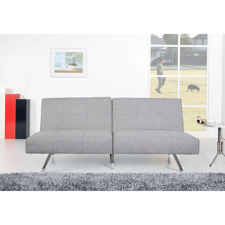 Gold Sparrow Victorville Ash Convertible Futon Sofa