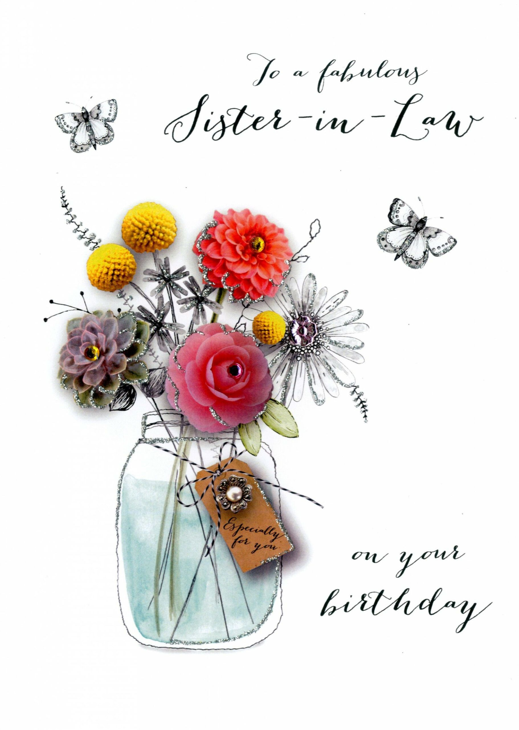 7 Birthday Card Ideas For Sister In Law in 2020 Sister