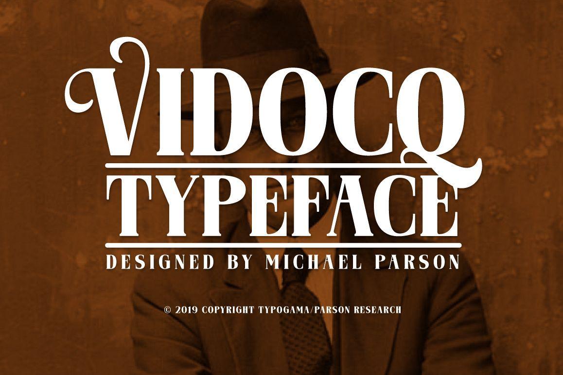 Download Vidocq   Premium fonts, Creative fonts, Font packs