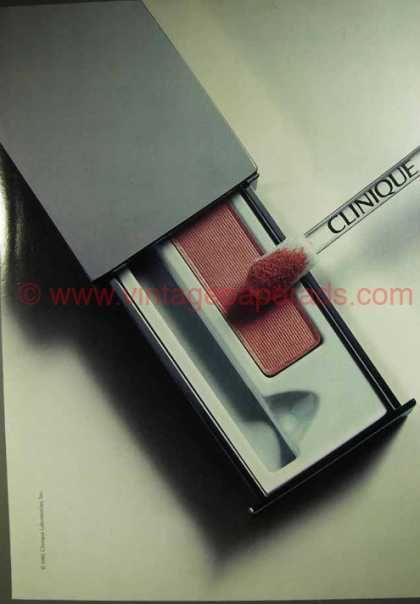 Clinique - Eye Liner, Irving Penn, (1986)