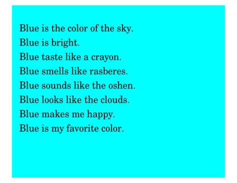 Color Poems Google Search Poetry Pinterest Poem