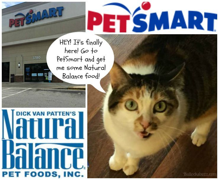 Natural Balance Cat Food And Dog Food Is Now At Petsmart It S The Cat S Meow Petsmartstory Food Animals Cat Food Petsmart