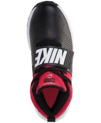 30eaafebfc2f Nike Boys  Team Hustle D8 Basketball Sneakers from Finish Line - Black 4.5