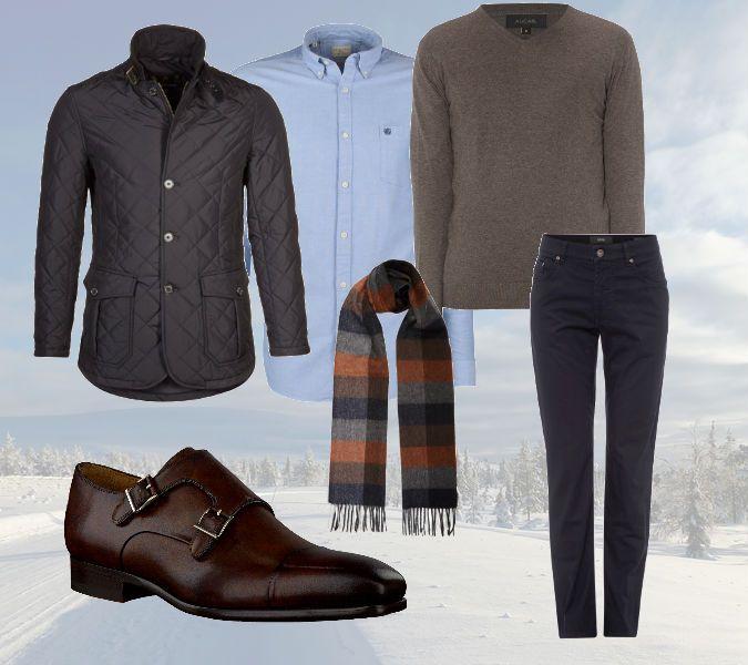 Winterkleding  - De Winterse Business-Casual look - Manify.nl