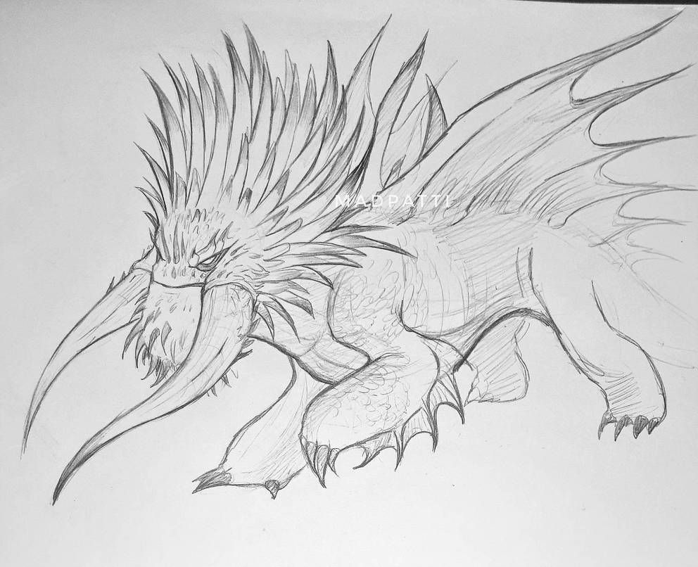 Bewilderbeast By Madpattii In 2021 How Train Your Dragon Dragon Sketch How To Train Your Dragon