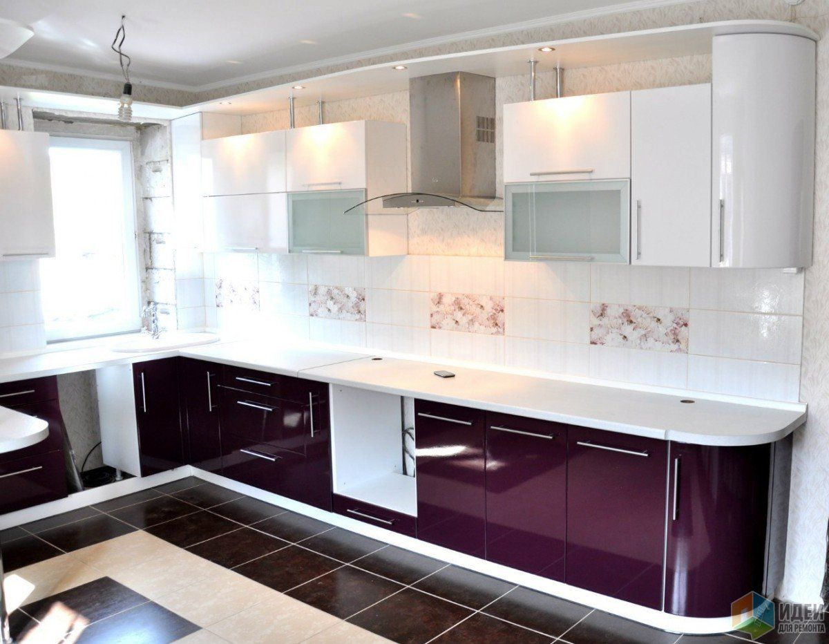 Purple gloss kitchen, D&D Installations LTD | Maki | Pinterest ...